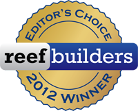 ReefBuilders 2012 Editor's Choice Winner